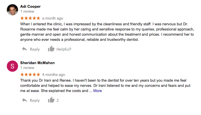 Maroubra dentist google reviews